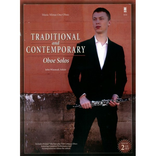 Traditional and Contemporary Oboe Solos - Music Minus One - Play-a-long Edition