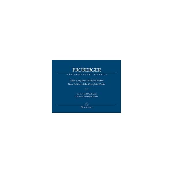 Keyboard & Organ Works Volume 5/2 Polyphonic Works - Johann Jacob Froberger
