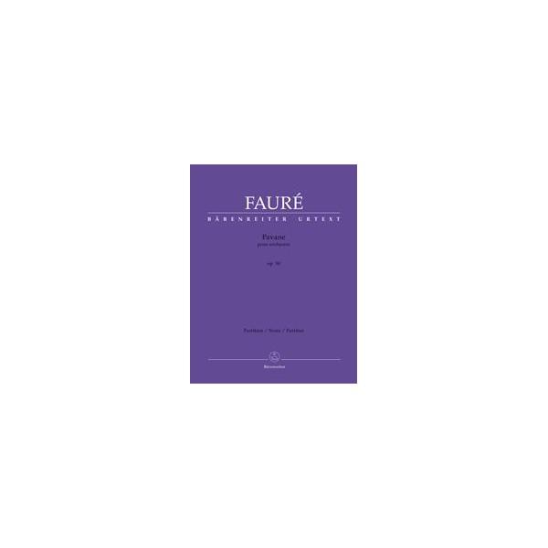 Pavane Op.50 Full Score - Gabriel Fauré