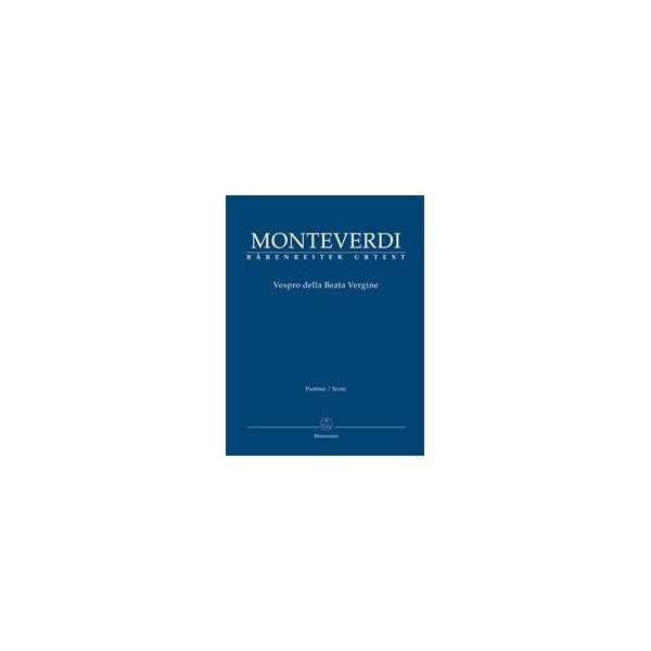 Vespers 1610, Vespro della Beata Vergine Full Score - Claudio Monteverdi