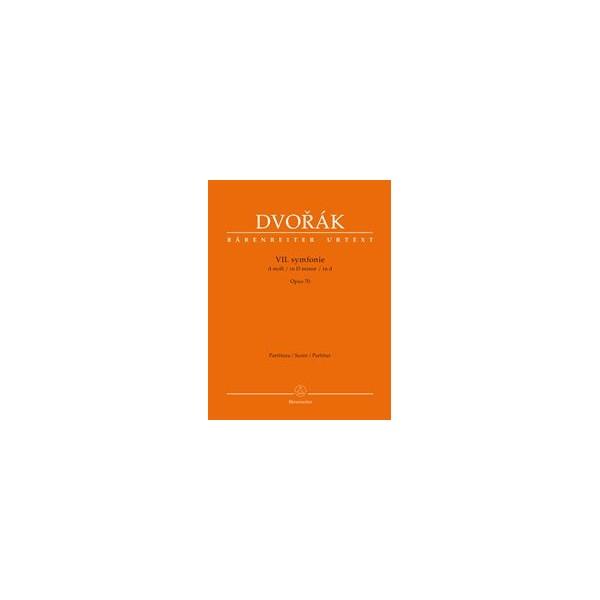 Symphony No.7 in D minor Op.70 Full Score - Antonín Dvorák