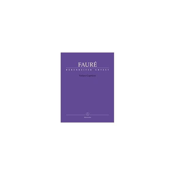 Valses-Caprices for piano solo - Gabriel Fauré