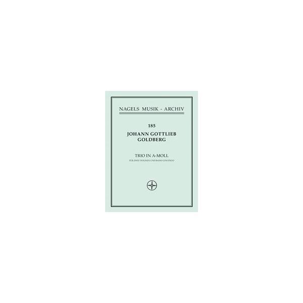 Trio in A minor (Sonata No. 4) - Johann Gottlieb Goldberg