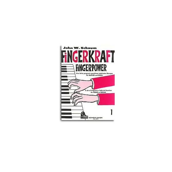 John W. Schaum: Fingerpower Book 1