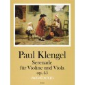 Klengel, Paul - Serenade for Violin & Viola Opus 45
