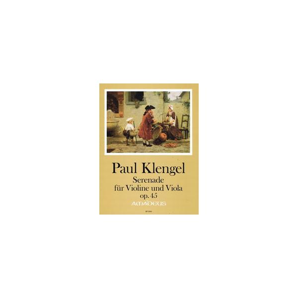 Klengel, Paul - Serenade for Violin & Viola Opus 45