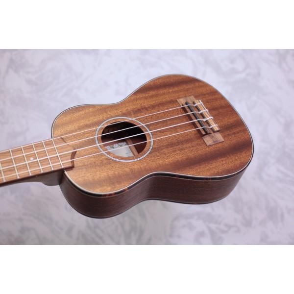 Kala KA-SMHS all solid mahogany soprano Ukulele