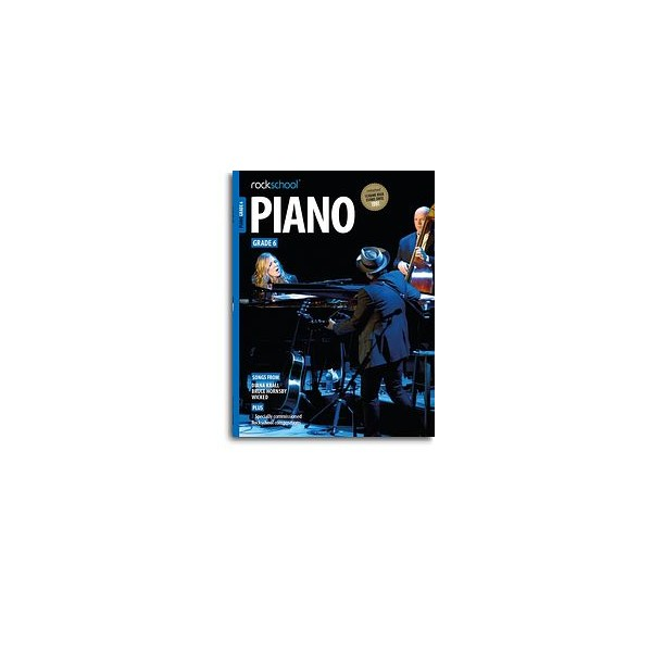 New Rockschool Piano Grade Six (from 2015)