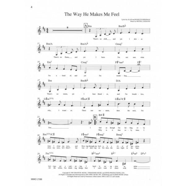 The Way He Makes Me Feel - Barbra Streisand - Music Minus One