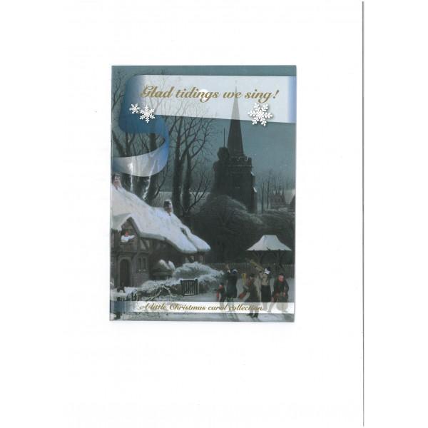 Glad Tidings We Sing! Christmas Card.
