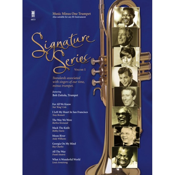 Signature Series Volume 1 - Trumpet - Music Minus One Play-a-long Edition