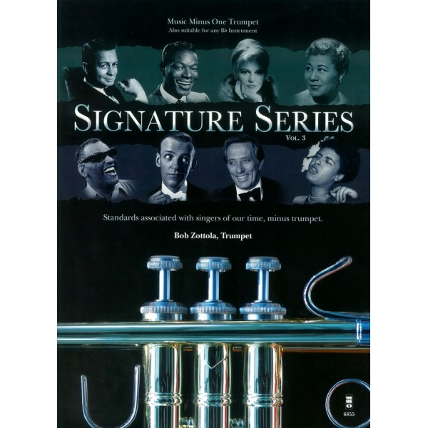 Signature Series Volume 3 - Trumpet - Music Minus One Play-a-long Edition