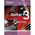 Grade Three Trinity Guitar Exam Pieces (from 2016)