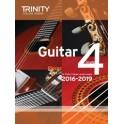 Grade Four Trinity Guitar Exam Pieces (from 2016)