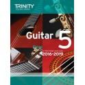 Grade Five Trinity Guitar Exam Pieces (from 2016)