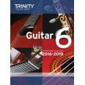 Grade Six Trinity Guitar Exam Pieces (from 2016)