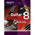 Grade Eight Trinity Guitar Exam Pieces (from 2016)