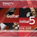 Trinity Guitar Exam Pieces CD, Grades 0-5 (2016-19)