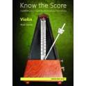 Tanner, Mark - Know the Score (Violin)