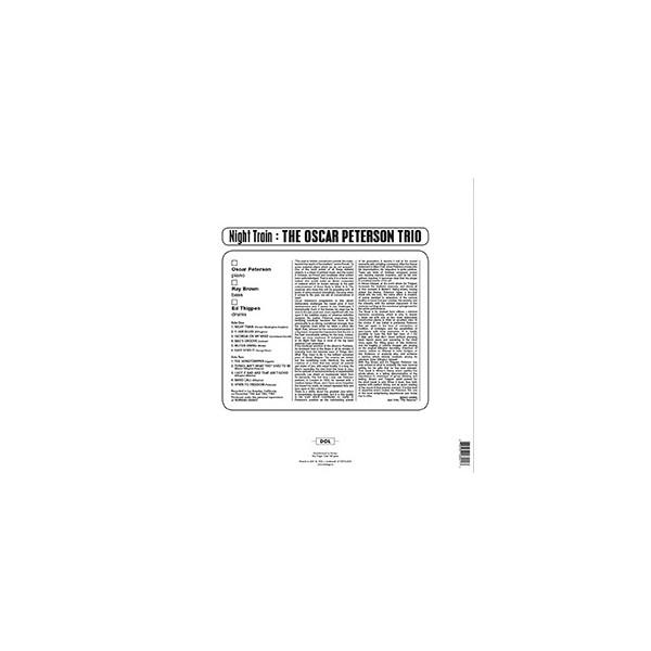 Night Train - The Oscar Peterson Trio - Vinyl
