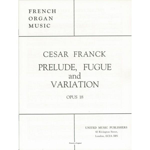 Franck, Cesar - Prelude, Fugue & Variation in B minor