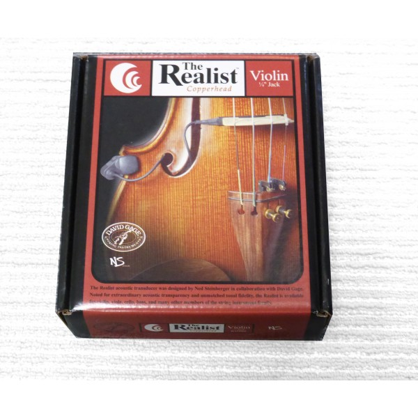 Realist Violin pickup DVNQT