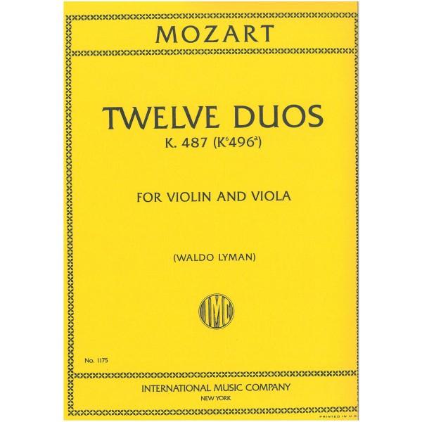 Mozart, W A - Twelve String Duos
