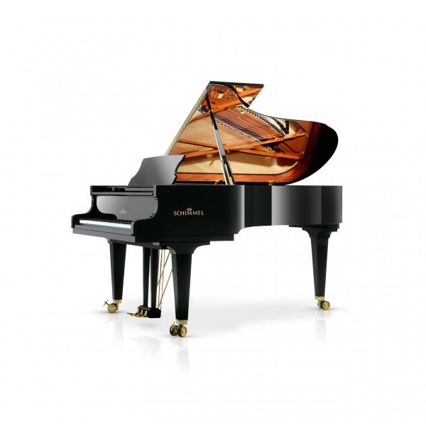 Schimmel Konzert K219T Grand Piano in Black Polyester