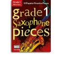Grade 1 Alto Saxophone Pieces (Book/Audio Download) - Hussey, Christopher (Arranger)