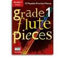 Grade 1 Flute Pieces (Book/Audio Download) - Hussey, Christopher (Arranger)
