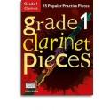 Grade 1 Clarinet Pieces (Book/Audio Download) - Hussey, Christopher (Arranger)