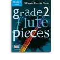 Grade 2 Flute Pieces (Book/Audio Download) - Hussey, Christopher (Arranger)