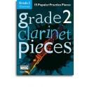 Grade 2 Clarinet Pieces (Book/Audio Download) - Hussey, Christopher (Arranger)