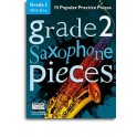 Grade 2 Alto Saxophone Pieces (Book/Audio Download) - Hussey, Christopher (Arranger)