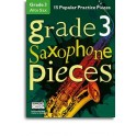 Grade 3 Alto Saxophone Pieces (Book/Audio Download) - Hussey, Christopher (Arranger)