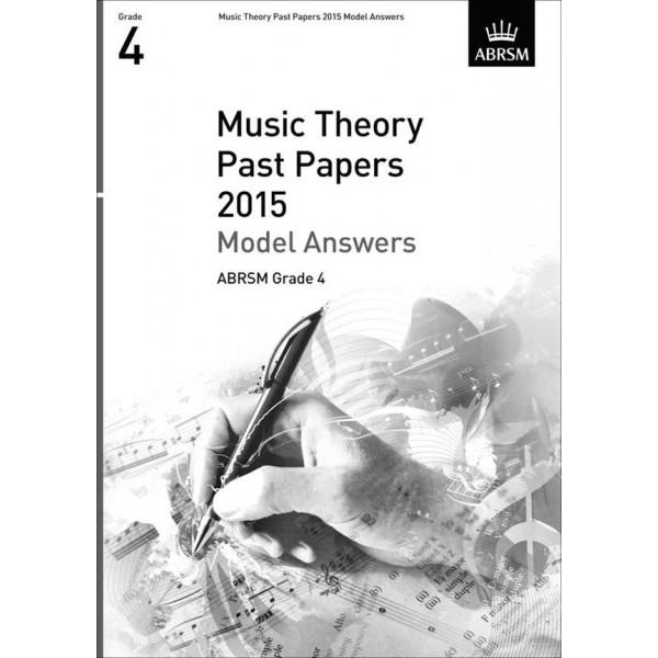 ABRSM Music Theory Model Answers 2015 Grade Four