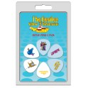 Perri's The Beatles Yellow Submarine LP-TB3 6-pack guitar picks