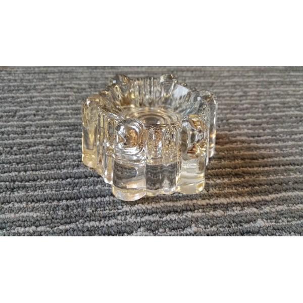 Glass Castor Cups