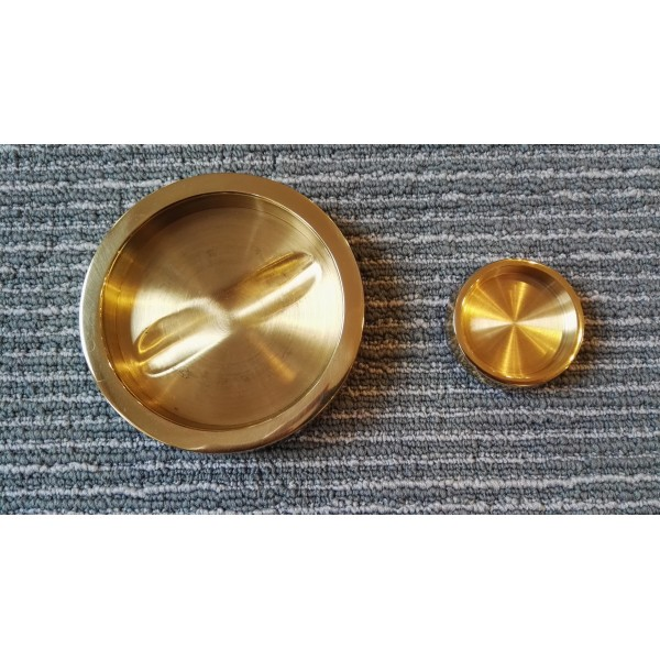 Brass Castor Cups