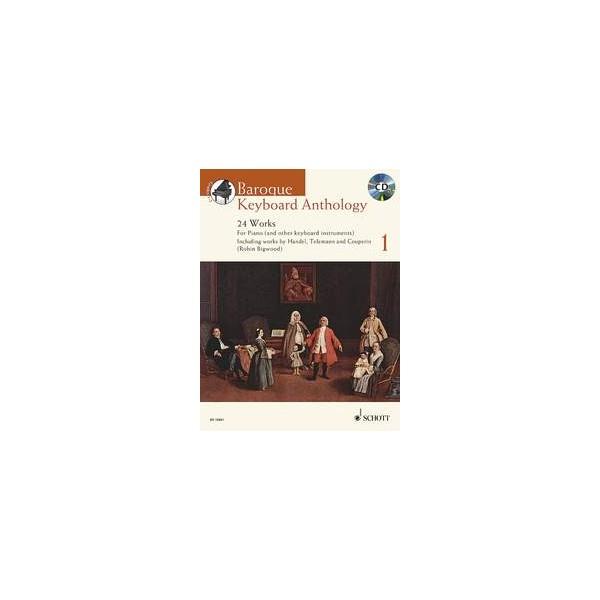 Baroque Keyboard Anthology, Volume One