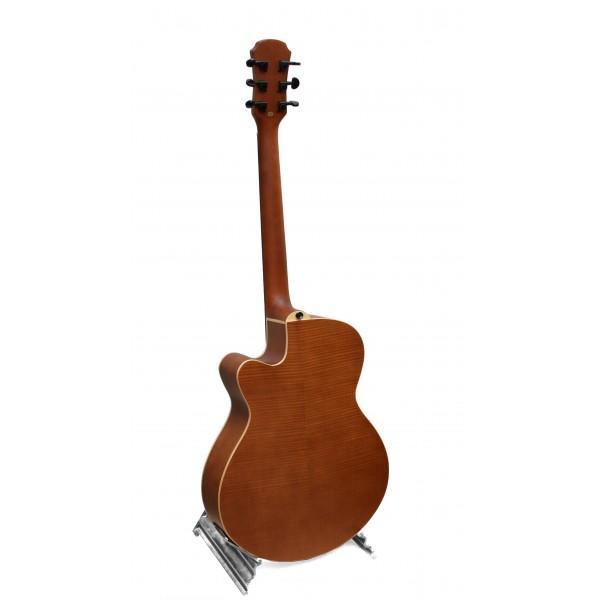 Aria FET-F1 natural electro acoustic guitar