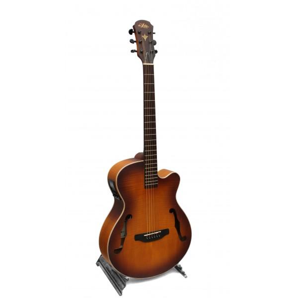 Aria FET-F1 light vintage sunburst electro acoustic guitar