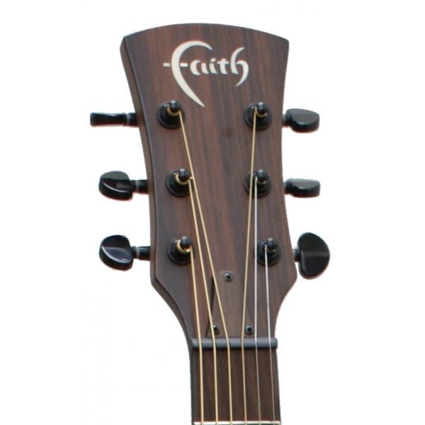 Faith FKVMG - Naked Venus Mahogany headstock