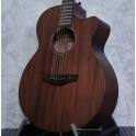 Faith FKVMG - Naked Venus Mahogany cutaway electro-acoustic guitar