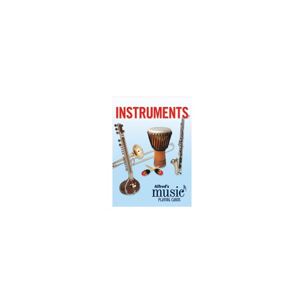 Deck of Instrumental Playing Cards
