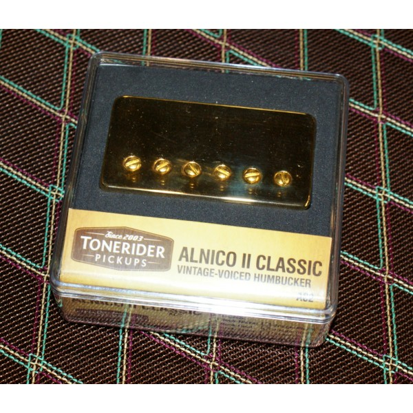Tonerider AC2 Classic Alnico II Neck Pickup Gold Cover