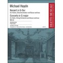 Haydn, Michael - Violin Concerto in G major