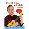 Mike Jackson: Uken Play Easy Ukulele (Book/Audio Download) - Jackson, Mike (Author)