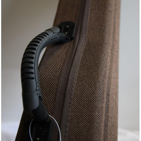 Gewa Bio Violin Shaped Case Brown
