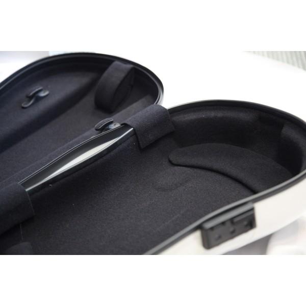 Gewa Air - Violin Shaped Hard Case in White